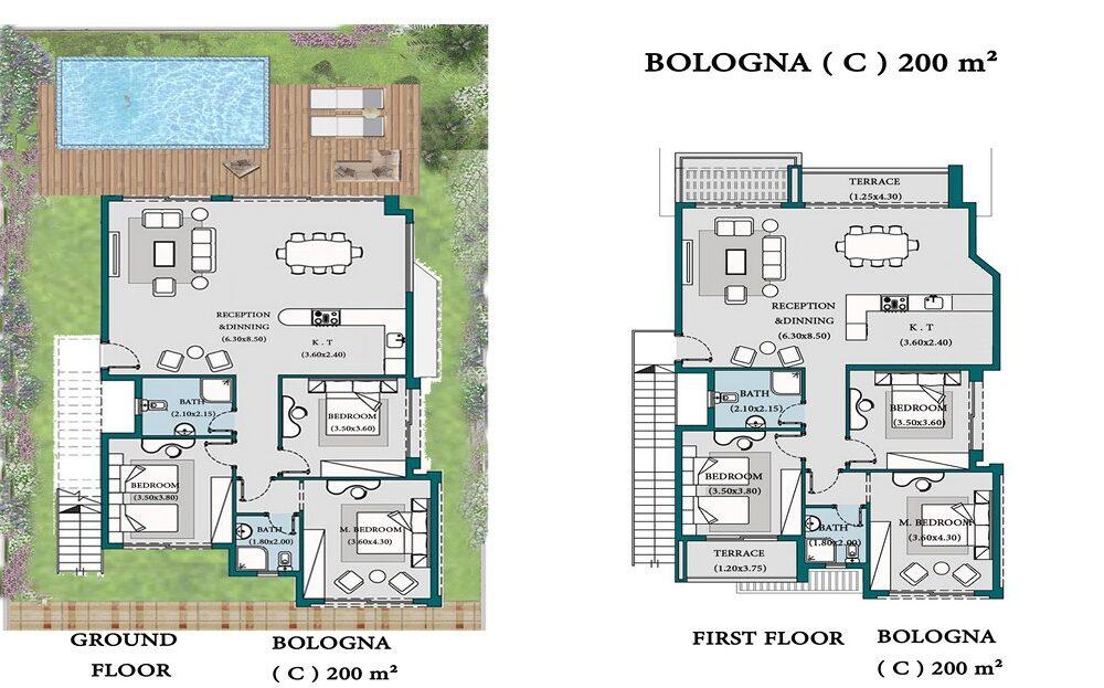 Bologna C 200 m2
